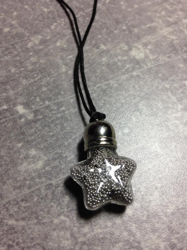 Pendentif étoile micro-billes