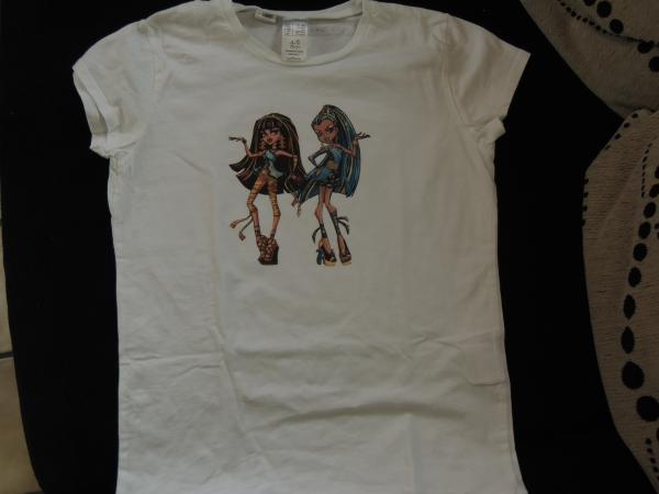 Tee shirt Monster High
