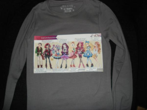 Tee-shirt Ever after high