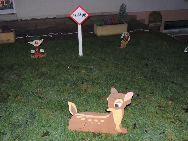 Bambi et les lutins sur la piste d'atterissage!!