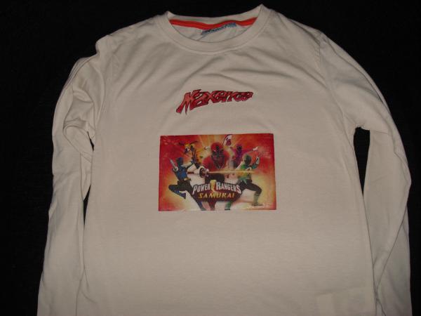 Tee-shirt Power Rangers