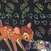 Carte à gratter Bambi