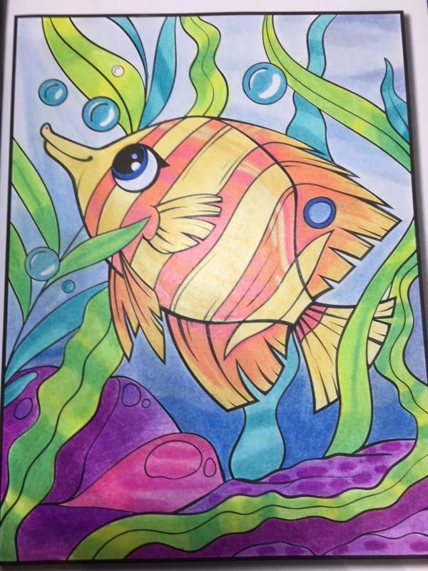 Coloriage Océan