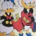 Coloriage Donald et Picsou