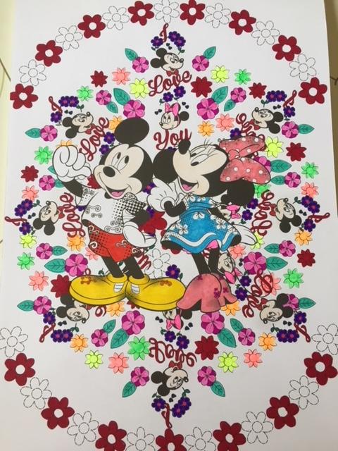 Coloriage Mickey et Minnie