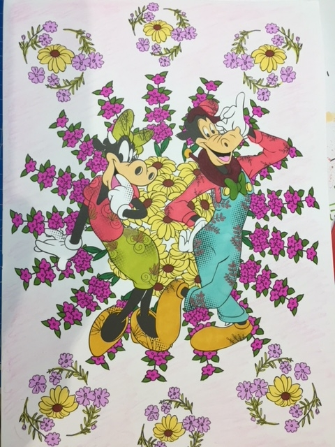 Coloriage Clarabelle et Horace