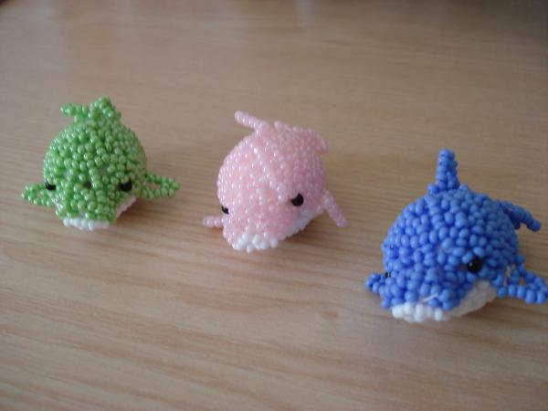 3 petits dauphins.....