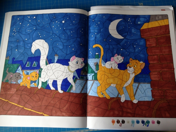 Coloriage aristochats