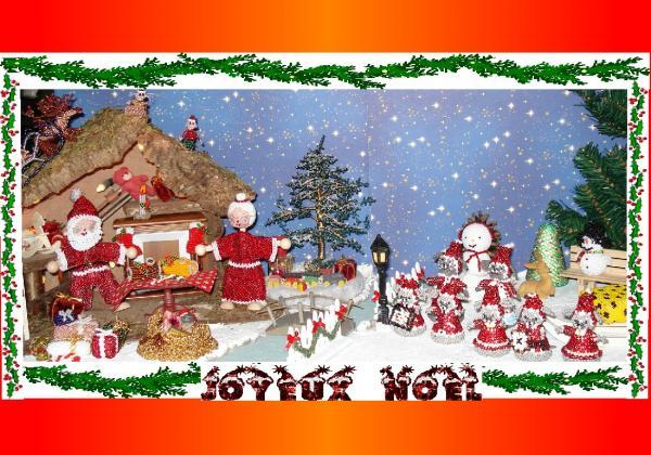 Le 24 décembre chez le Père Noël...