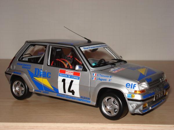 Super 5 GT Turbo phase 2 Groupe N (J.Ragnotti)
