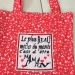 Tote bag avec broderie