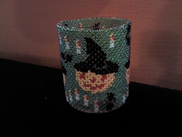 Pot à crayon halloween